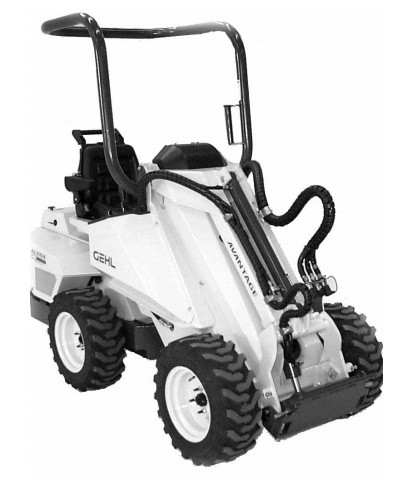 GEHL AL20DX Series II Articulated Compact Utility Loader Parts Manual