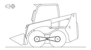 KOMATSU SK741-5, SK815-5, SK815-5 TURBO SKID-STEER LOADER SERVICE REPAIR MANUAL