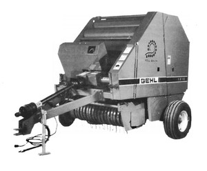 GEHL 1310 Fixed Chamber Round Baler Parts Manual