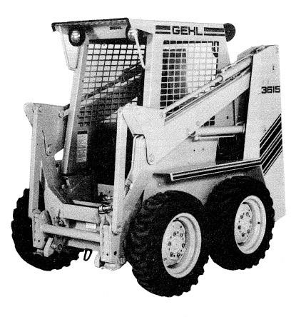 GEHL SL3515/SL3615 Skid Loader Parts Manual