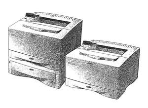 HP LaserJet 5000, 5000 N, 5000 GN Printers Service Repair Manual