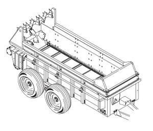 GEHL 175, 250, 325 & 425 Manure Spreaders Parts Manual