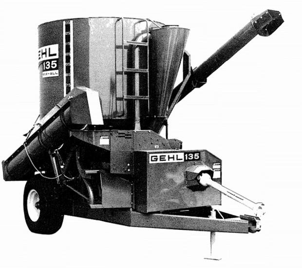 GEHL 135 MIX-ALL Parts Manual