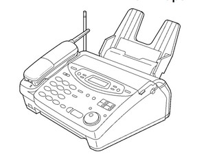Panasonic KX-FPC135, KX-FPC141 Plain Paper FAX With 900 MHz Cordless Phone Service Repair Manual