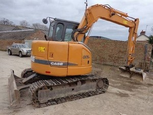 CASE CX75SR, CX80 CRAWLER EXCAVATORS SERVICE REPAIR MANUAL