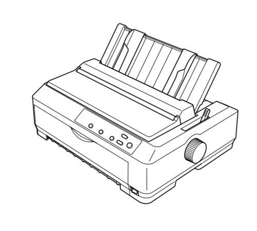 Epson FX-890 / FX-2190 Serial Impact Dot Matrix Printer Service Repair Manual