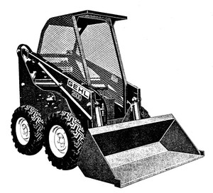 GEHL HL2500A Skid Loader Parts Manual