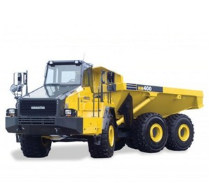 KOMATSU HM400-2 ARTICULATED DUMP TRUCK SERVICE REPAIR MANUAL + FIELD ASSEMBLY INSTRUCTION