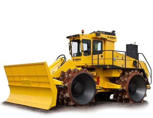 BOMAG Sanitary landfill compactor BC 972 RB OPERATION & MAINTENANCE MANUAL