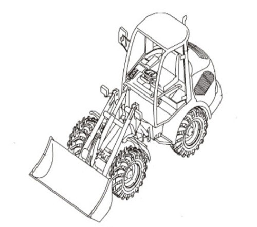 Takeuchi TW65 Wheel Loader Parts Manual (Serial No. E106266~)