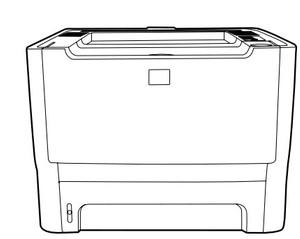 HP LaserJet P2015 Series printer Service Repair Manual