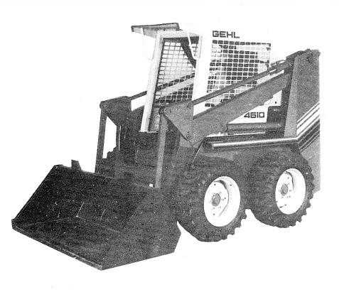 GEHL 4610 Skid Loader Parts Manual