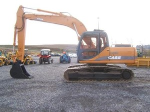 CASE CX160 CRAWLER EXCAVATORS SERVICE REPAIR MANUAL