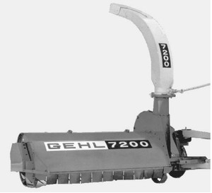 GEHL FC7200 Flail Chopper Parts Manual