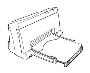 HP DeskJet 400 Printer Service Repair Manual