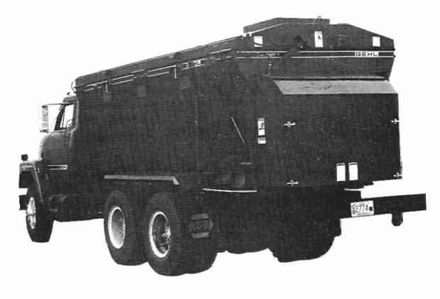 GEHL 322 Truck Mounted Scavenger II Manure Spreader Parts Manual
