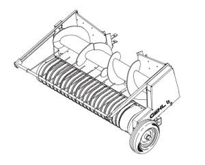 GEHL HA1110 Hay Attachment Parts Manual