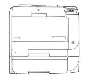 HP Color LaserJet CP2020 Series Service Repair Manual