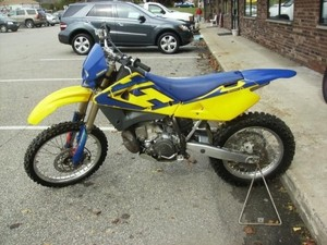 2004 HUSQVARNA WR250, CR250 MOTORCYCLE SERVICE REPAIR MANUAL