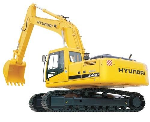 HYUNDAI R290LC-7 CRAWLER EXCAVATOR SERVICE REPAIR MANUAL