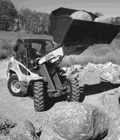 GEHL 480 ALL WHEEL STEER LOADER PARTS MANUAL