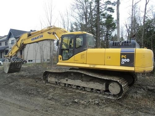 KOMATSU PC300LC-7E0, PC300HD-7E0 HYDRAULIC EXCAVATOR SHOP MANUAL + OPERATION & MAINTENANCE MANUAL
