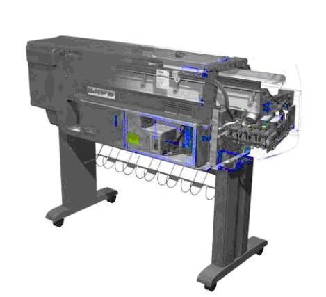 HP DesignJet 4000 Series Printers Service Repair Manual
