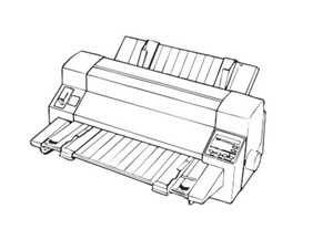 EPSON DLQ-3000+ 24-PIN DOT MATRIX PRINTER SERVICE REPAIR MANUAL