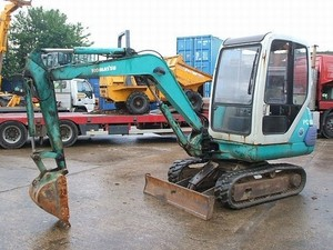 KOMATSU PC10-7, PC15-3, PC20-7 HYDRAULIC EXCAVATOR SERVICE REPAIR MANUAL