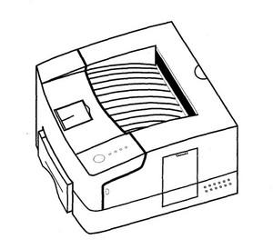 Xerox DocuPrint 4508 Electronic Laser Printer Service Repair Manual