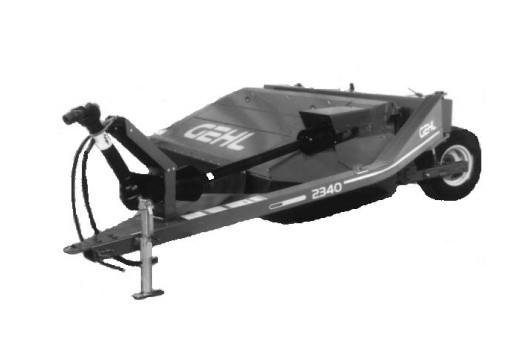 GEHL 2340/2360 Disc Mower Conditioner Parts Manual