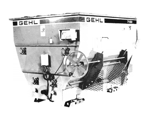 GEHL 7150 Stationary Mixer Feeder Parts Manual