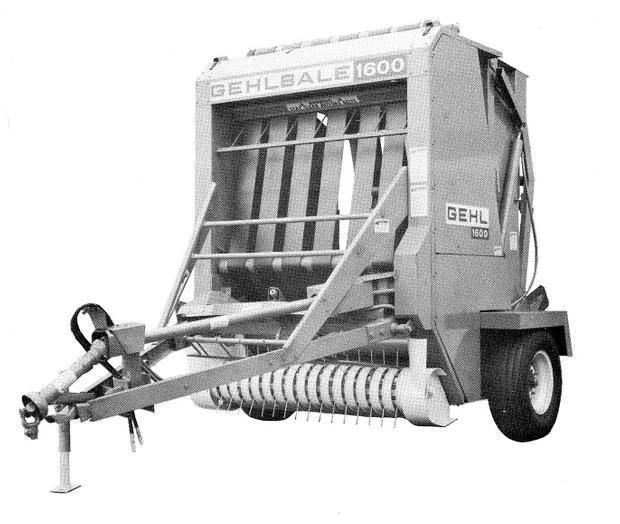 GEHL RB1600 Baler Parts Manual