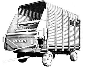 GEHL BU 910 Forage Box Parts Manual