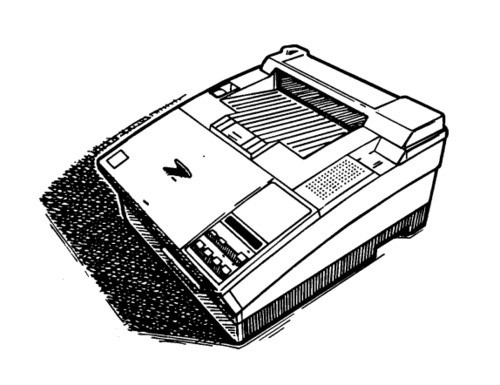 Epson EPL-5000 / EPL-5200 / Action Laser 1000 / Action Laser 1500 Terminal Printer Service Manual