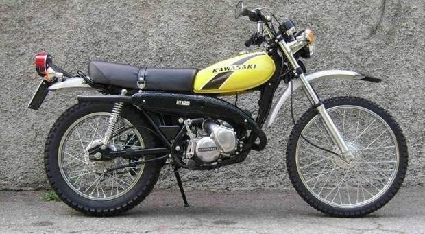 KAWASAKI KE125 MOTORCYCLE SERVICE REPAIR MANUAL 1974-1980 DOWNLOAD