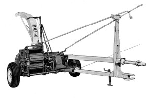 GEHL CB600 Forage Harvester Parts Manual