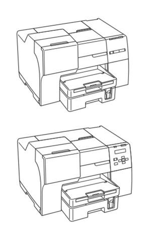 Epson B-300 / B-500DN / B-508DN Color Inkjet Printer Service Repair Manual