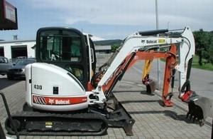 BOBCAT 430 COMPACT EXCAVATOR SERVICE REPAIR MANUAL (S/N: AA8711001 & Above, S/N: AA8811001 & Above)