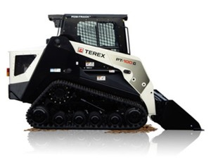 TEREX PT-100 FORESTRY Rubber Track Loader Service Repair Manual