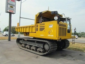 KOMATSU CD110R-1 CRAWLER CARRIER SERVICE REPAIR MANUAL + OPERATION & MAINTENANCE MANUAL