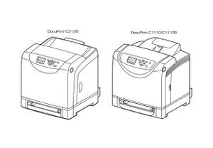 FUJI XEROX DocuPrint C2120, C1110, C1110B Color Laser Printer Service Repair Manual