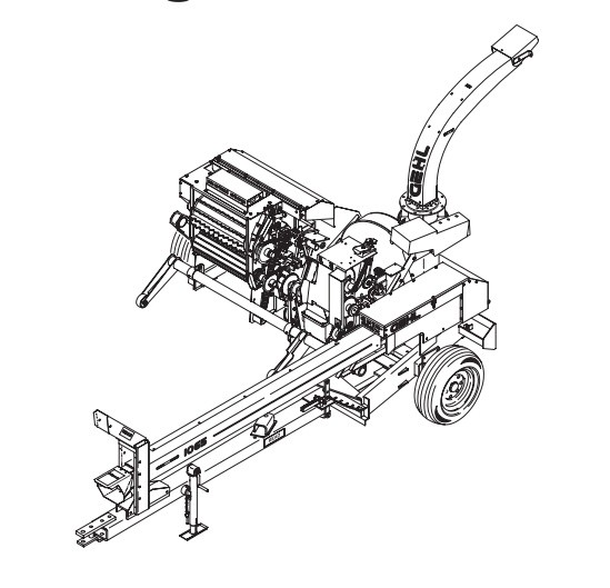 GEHL 1060/1065 Forage Harvesters Parts Manual