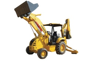 KOMATSU WB142-5 BACKHOE LOADER SERVICE REPAIR MANUAL + OPERATION & MAINTENANCE MANUAL
