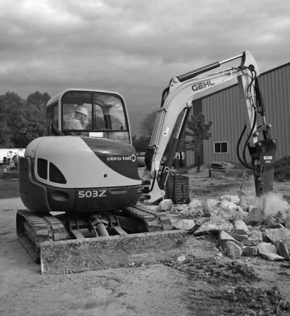 GEHL 503Z Compact Excavator Parts Manual