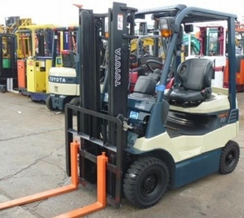Toyota Electric Powered Forklift 7FB10, 7FB14, 7FB15, 7FB18, 7FB20 Series Service Repair Manual