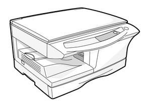 SHARP AR-5012 DIGITAL LASER COPIER/PRINTER Service Repair Manual