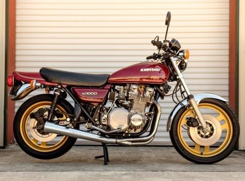 KAWASAKI KZ1000, KZ1100 MOTORCYCLE SERVICE REPAIR MANUAL 1981-1983 DOWNLOAD