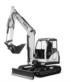 GEHL 502 Compact Excavator Parts Manual