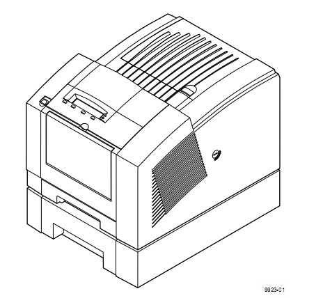 Tektronix Phaser 360 Color Printer Service Repair Manual